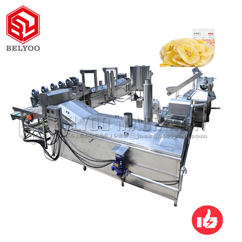 Automatic Machine How to Making Thin & Crispy Banana Chips Machine
