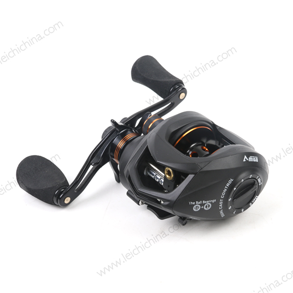 In stock low profile bass fishing baitcasting reel