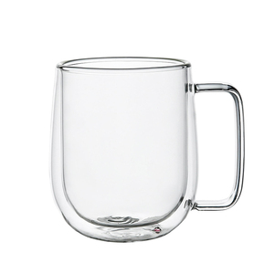 Classic Glass Handmade double wall glass coffee mugs
