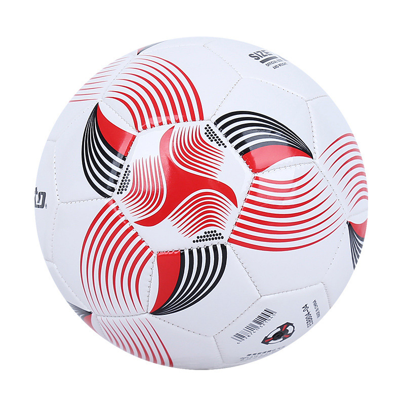 Teenagers Size 4 football ball wear-resistant PVC sports training machine sewing color Soccer Ball