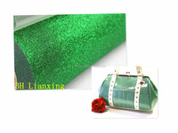 2016 New Pattern Glitter Surface PVC Leather for Bags