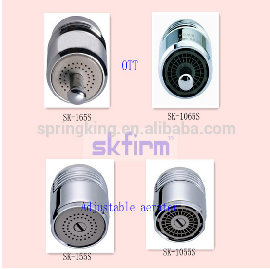 Adjustable Faucet Aerator Brass Stainless Steel Abs Faucet Aerator Water Savi