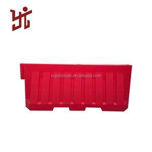 roadway water filled blowing barriers /Road traffic barrier / Plastic evens safety Manufacturer