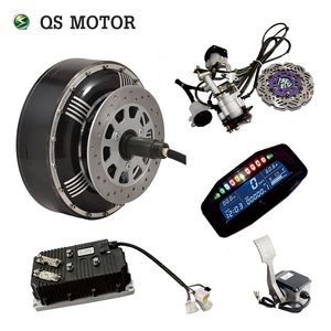 2018 Popular double 8000W 273 50H V3 in wheel hub motor with electric car kits for conversion sale