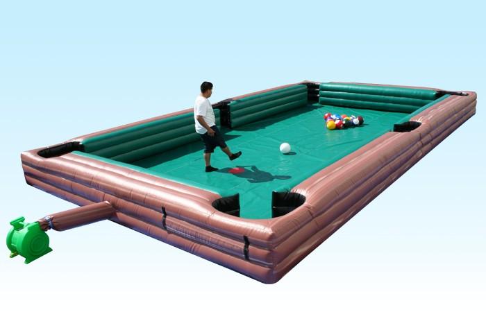 Humano Inflable Billar Gigante Juegos De Deportes Inflables