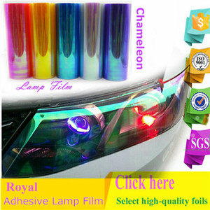 Royal Glory Adhesive Color Film for Chameleon Headlight Lamp Lights