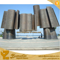 Chinese ancient large casting bronze sculpture for outdoor