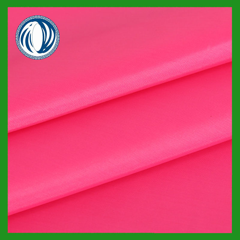 100% Polyester plain dyed 190T tafetta width 150cm weight 80g/m from textile factory
