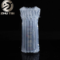 Wine Wrap Protector Wrap Sleeves Cushioning Pack Glass Travel Airline Transport Bags Air filled Column Sleeve