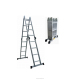 Promotion ladder 2.6M 3.6M 4.7M aluminium hook ladder with EN 131 GS approval