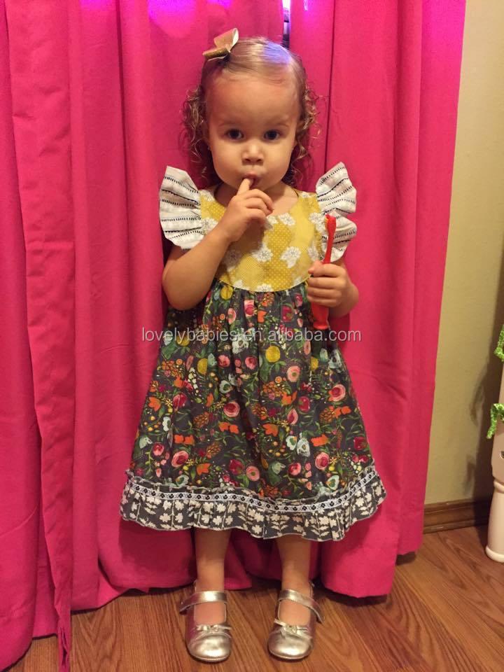 384b3239976b Baby Girls Gold Polka Dot Cotton Frocks Girls Kids Sequins Dresses ...