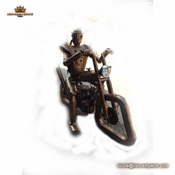 Special Soldier Statue For Garden And Motor Cycles Model With Lowes Outdoor Garden  Statues