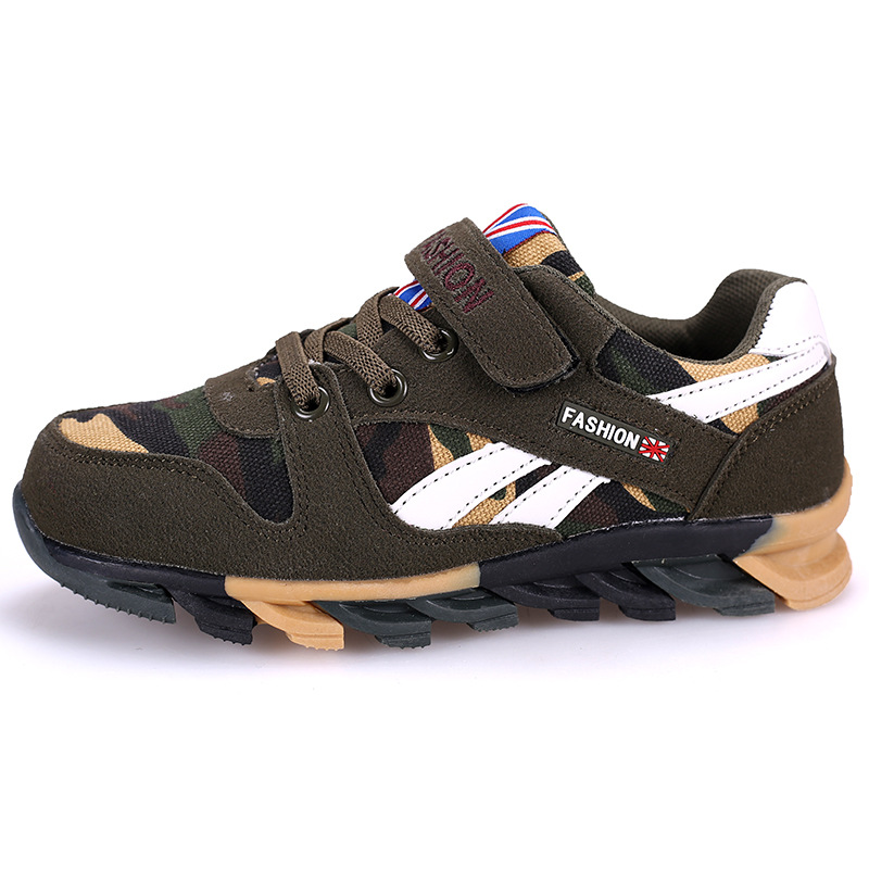 Boys Sports Shoes Camouflage Winter And Autumn Models 2018 New Children s  Sports Shoes Wholesale Girls Sneakers - Buy Boys Sports Shoes 19cc59acc71b