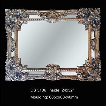 Baroque Wall Mirror polyresin large baroque salon wall mirrors - buy salon wall