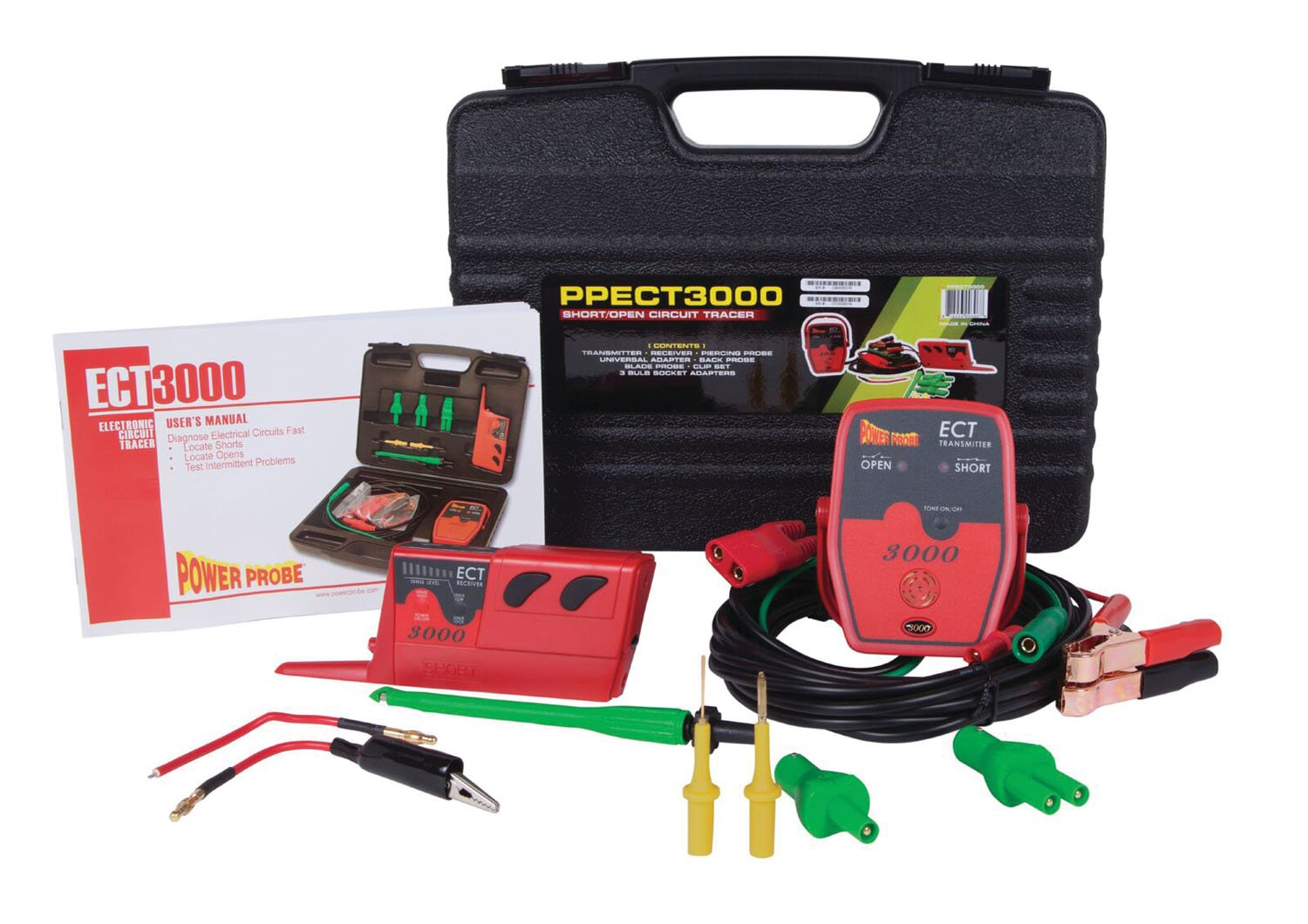 Power Probe PWP-PPECT3000 - ECT3000 Short/Open Electrical Circuit Tester