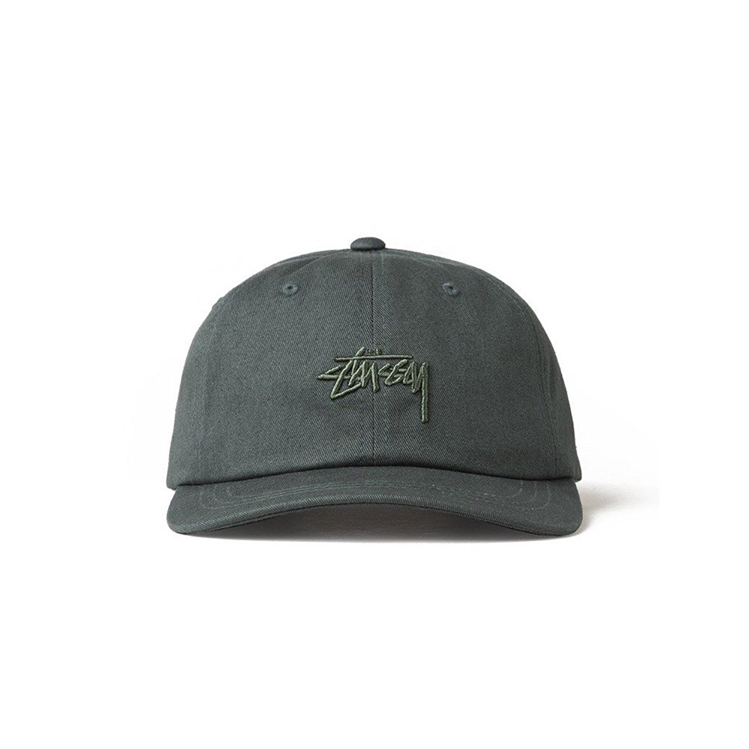 c02b5b961f5 Get Quotations · Stussy Cap – Tonal Stock Low green size  Adjustable