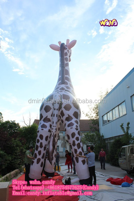 2016 Hot Sale Giant Inflatable Giraffe For Advertising C 184