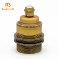 RoHS CE E27 High Quality Brass UK Intermediate Old Lamp Socket