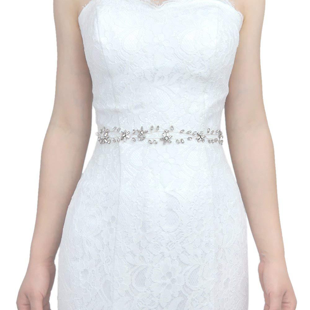 THK-Wedding Thin bridal belt, rhinestone wedding belt,Bridal Belt Bridal Sash,formal sash belt