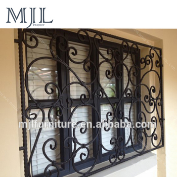 Wrought Iron Grill For Window 4