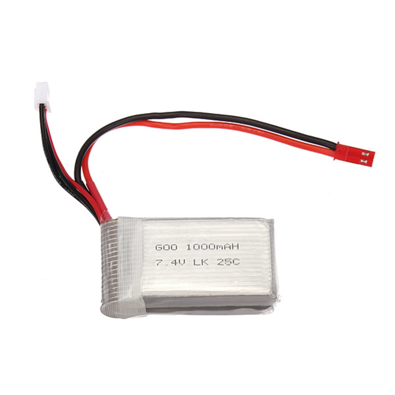WLtoys V912 RC Helicopter Spare Parts Upgraded Li-Poly Battery 1000mAh 7.4V 20C