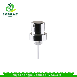 Wholesale 12 14 18 crimp spray pump UV coating perfume pump sprayer