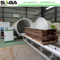 Short Time Wood Drying Equipment With HF Timber Dryer Kiln For Sales
