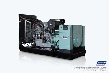 500KVA 400KW open silent type Diesel Generator Set with Perkins engine 2506A-E15TAG2