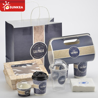 Custom made food products packaging
