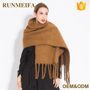 Bulk Russia Shawls Ladies Winter Brown Cashmere Kashmiri Scarves Shawls For Importers In Europe