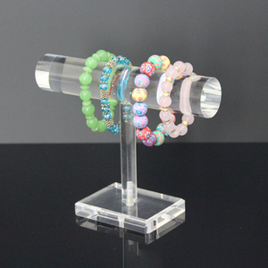 Clear Bracelet Display Stand Crystal Jewelry Holder Acrylic Jewelry Display