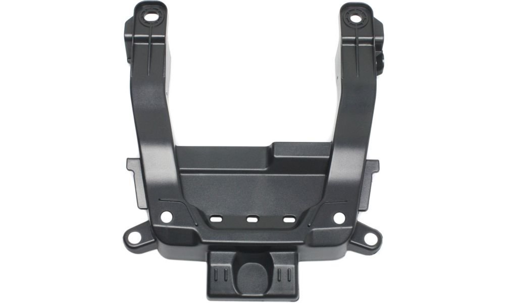 Evan-Fischer EVA227083014347 Grille Bracket for 2012-2014 Honda CR-V Models Made In Canada Mexico or USA Textured Black Replaces Partslink# HO1207106