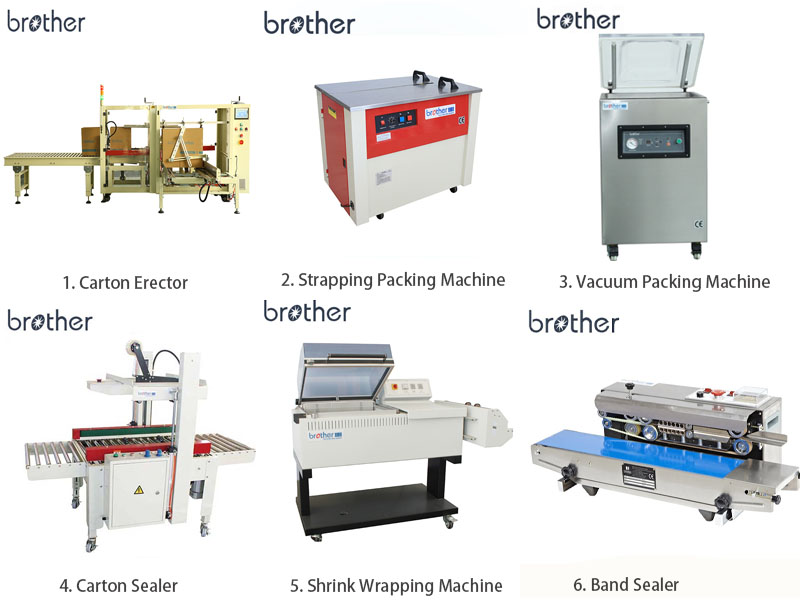 Brother AS823A Pneumatic Automatic Adhesive Tape Sealing Carton Box Sealing Packing Machine