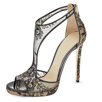d99f08c8f484 New Design Party Wear Sandals Shoes Women 2019 - Buy Sandals ...