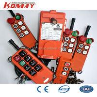KOMAY Hoist crane radio control/crane remote control/telecrane control