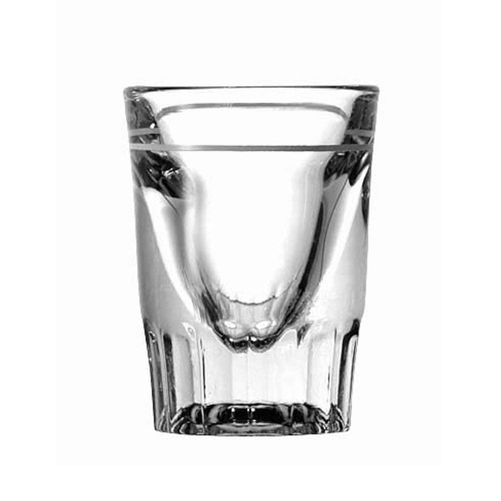 Anchor Hocking 5281/93 2-1/4 Inch Diameter x 2-7/8 Inch Height, 1.5-3/4-Ounce Line Whiskey Shooter Glass (Case of 48)