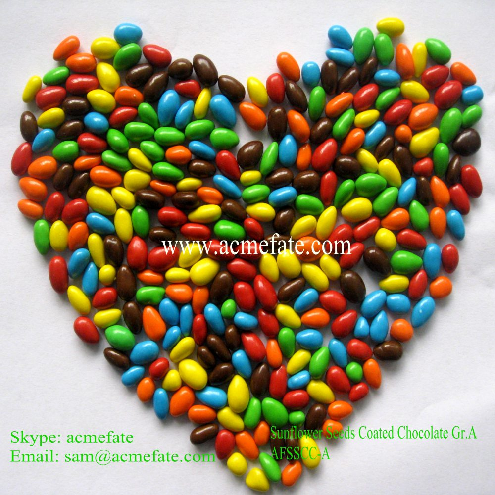 Party candy/sunflower seeds chocolate