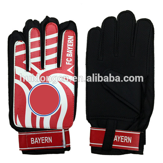 Wholesale 2017 new style cheap price PVC football goalkeeper gloves latex  design your own hand gloves 5b8941647daa