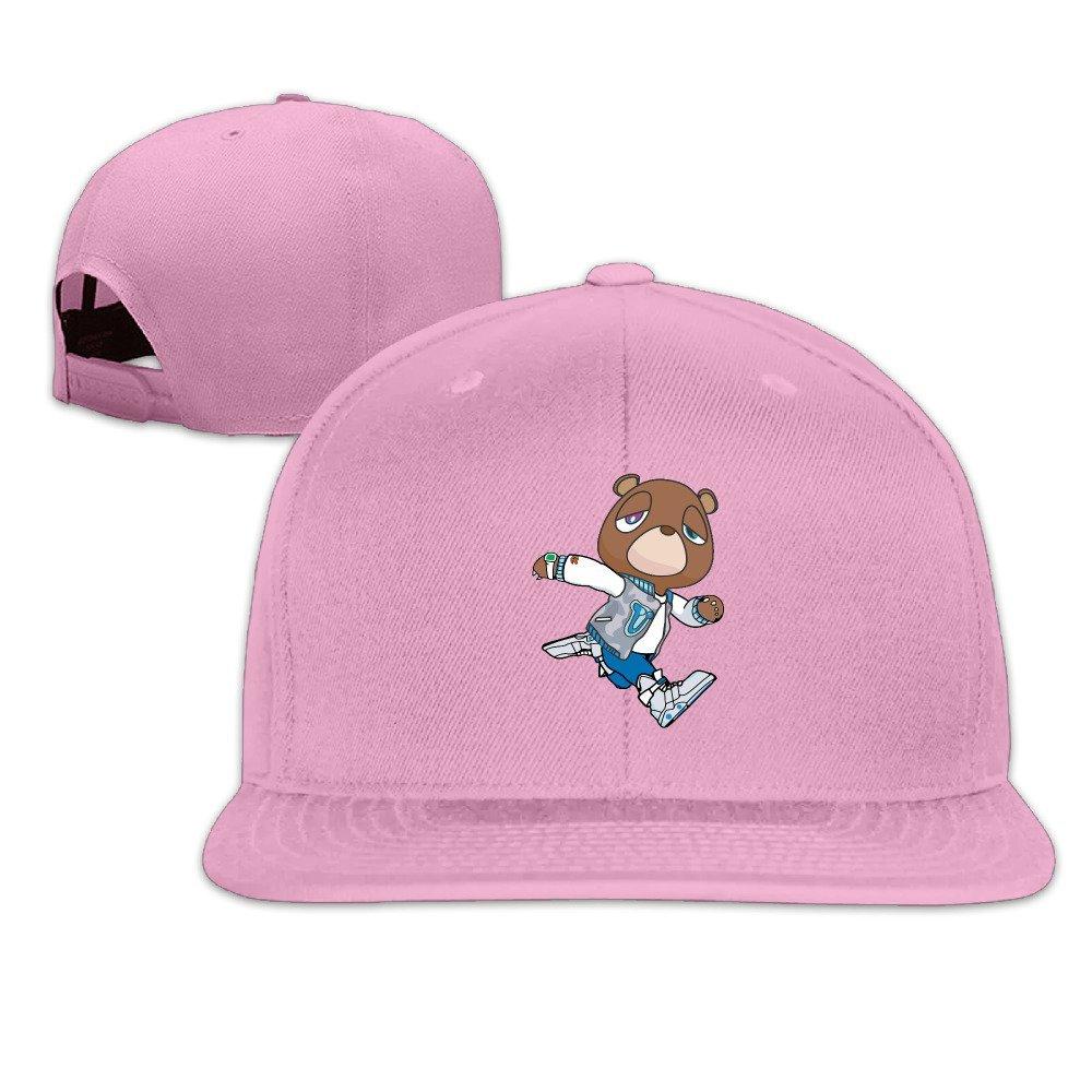 Get Quotations · Adjustable Cotton Baseball Caps Hat Kanye West Bear 93202e74f