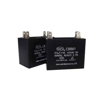 5uf 350v capacitor 2 wire table fan ceiling cbb61