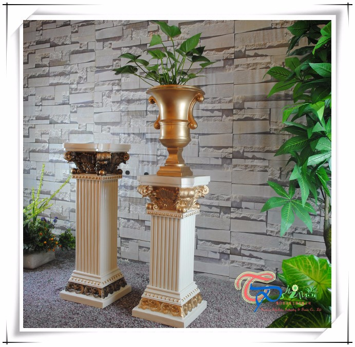 Most Beautiful Decoration Wedding Pillars Stands Flowers