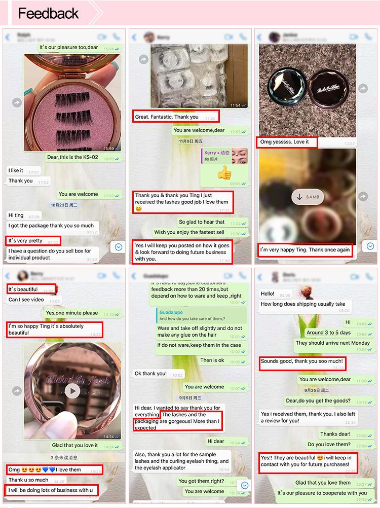 CUSTOM Hair บรรจุภัณฑ์กล่องฉลากส่วนตัวรอบที่ว่างเปล่าโลโก้ที่กำหนดเอง 3D Mink Eyelash กรณีวันหยุด