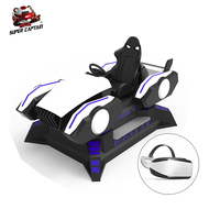 factory Amazing Games Racing 9D VR headset Racing Car For VR Game Center 9D Simulator Game Machine