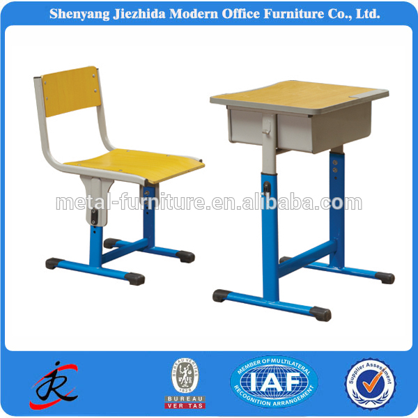 Nice 2016 TOP SALES School Furniture Standard Size Adjustable Student Kids Study  Desk And Chair