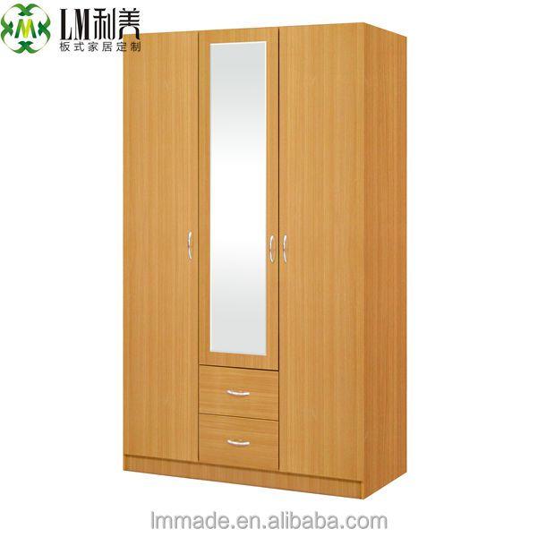 goedkope houten kast, drie deur kasten, slaapkamer kastenkasten, Meubels Ideeën