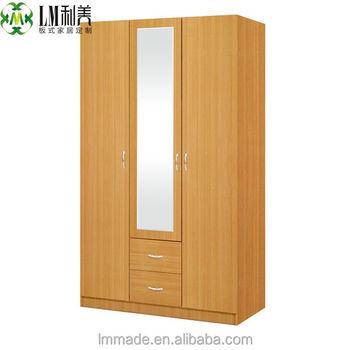 Cheap Wooden CupboardThree Door WardrobesBedroom WardrobesBuy