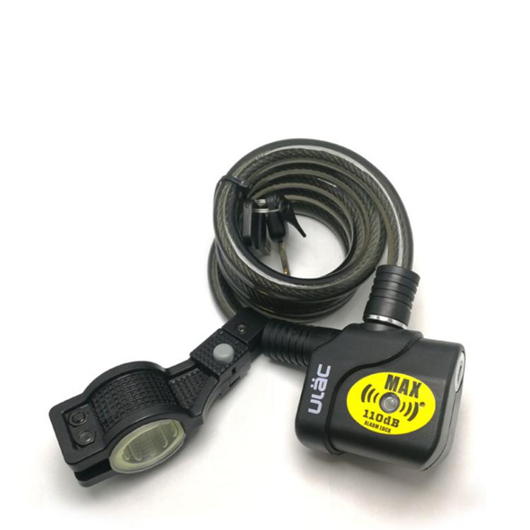 Alarmschloss 110dB Bremsscheibenschloss Fahrrad Motorrad Roller Alarm Lage Neu
