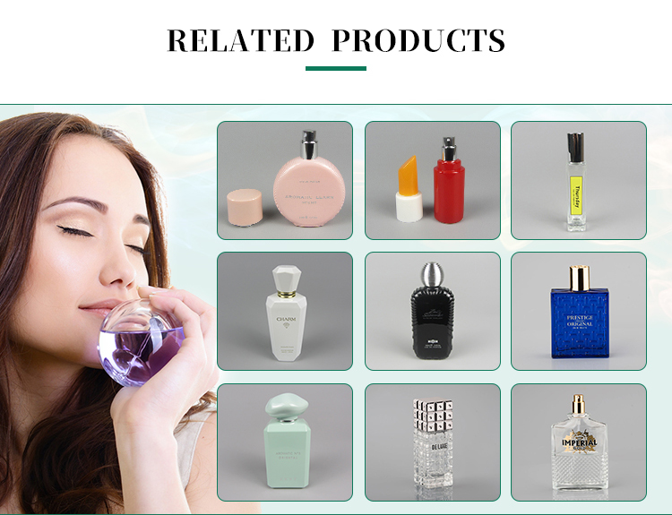 2019 News 100ml Transparent Empty Glass Perfume Spray Fragrance Bottle
