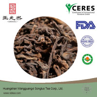 Best brand royal old wild fermented loose leaf Pu erh tea health bennrfit tea