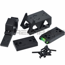 Greenbase DOC/RMR/DP PRO/T1/T2 Red Dot Sight Mount Multifunctional Mount With Riser Mount For Airsoft